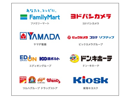 U-NEXTのポイントカードが購入できる場所の一覧