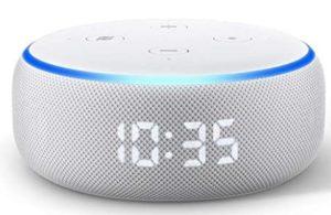 Amazon Echo dot with Clockの画像