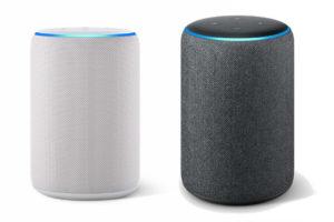 Amazon Echoシリーズの液晶ない種類の写真