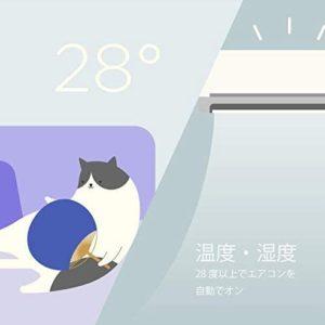 猫がエアコンの風に当たっている