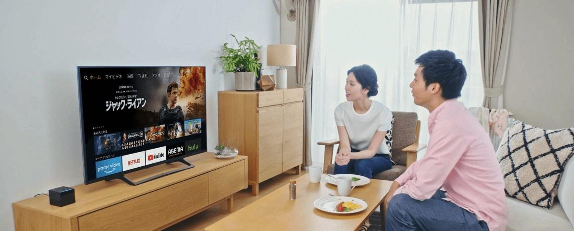 Fire TV Cubeの置き場所のイメージ