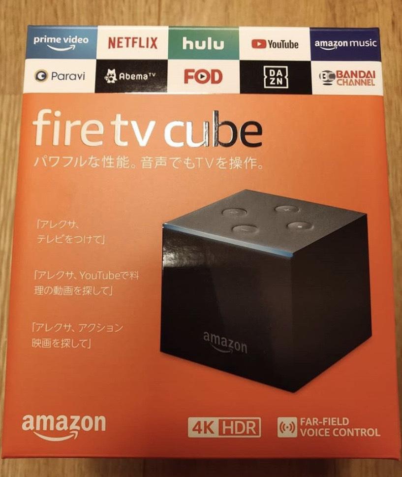 Fire TV Cubeの写真