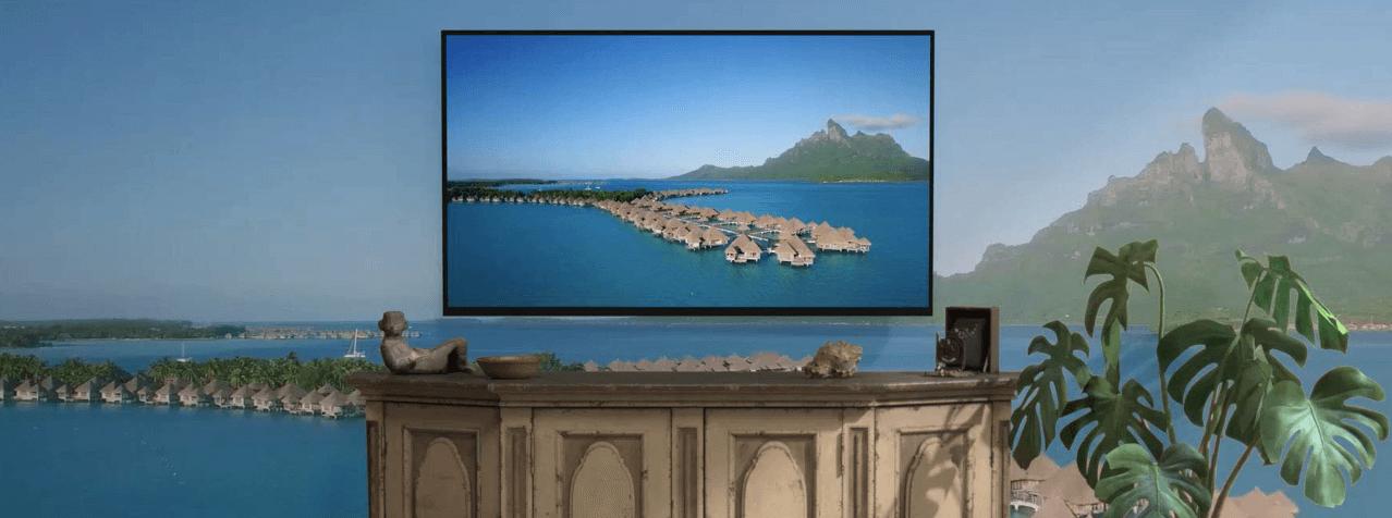 Fire TV Stick 4Kの高画質を表した写真